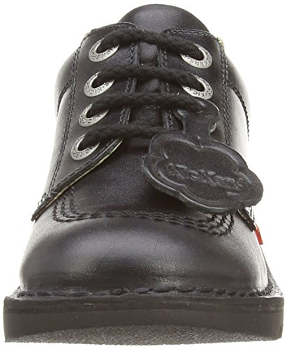 Kickers Kick Lo J Core - Zapatos, Unisex Negro (Black)