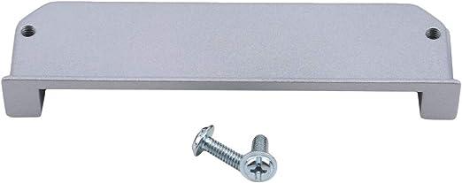 kemai - Tiradores para Puerta corredera (rectangulares, Ocultos de los Dedos), Aleación de cinc, 96 Löcher Silber, Als Beschreibung: Amazon.es: Juguetes y juegos