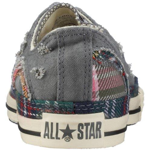 Converse All Star Chuck Taylor Patchwork Ox Unisex Scarpe Grigio / Beige