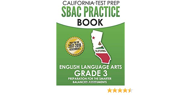 image regarding Caaspp Practice Tests Printable identify : CALIFORNIA Verify PREP SBAC Prepare Ebook English