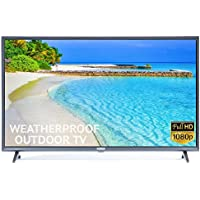 Outdoor TV Full Weatherized 43' HD Smart Weatherproof LED Television Sealoc 1080p