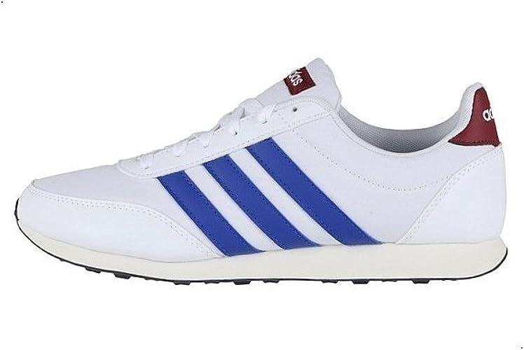 adidas V Racer 2.0 Herren Sneaker Grau Schuhe, Größe:44