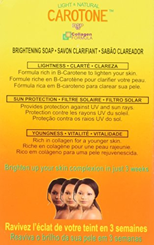 Carotone Soap 6.7 Oz Skin Treatment -
