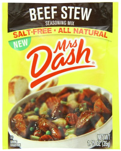 Mrs Dash Seasoning Mix, Beef Stew, 1.25 Ounce (Pack of 12) (Beef Stew Seasoning compare prices)
