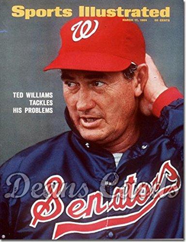 sports-illustrated-march-17-1969-ted-williams-washington-washington-senators-magazine-publication-ha
