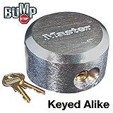 Master Lock Hidden Shackle Keyed Alike Locks #6271NKA BUMP PROOF