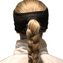 Women's Sport Fleece Headband / Earwarmer with Pony Tail Hole