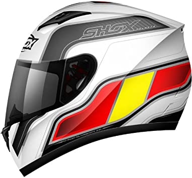 Shox Axxis Identity casco de moto españa Talla:55-56 cm (S ...