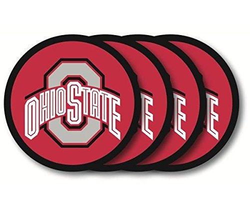 Duck House Ohio State Buckeyes Coaster Set - 4 Pack