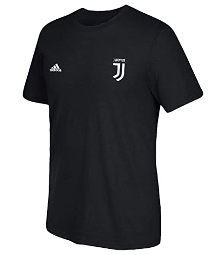 adidas Cristiano Ronaldo Juventus F.C. Men s Black Name and Number T-Shirt  Small 501d2f960