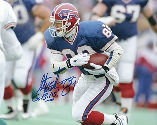 Autographed Steve Tasker 8x10 Buffalo Bills Photo at Amazon s Sports ... e8991b0ae