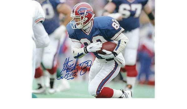 Autographed Steve Tasker 8x10 Buffalo Bills Photo at Amazon s Sports  Collectibles Store ce1514eb3