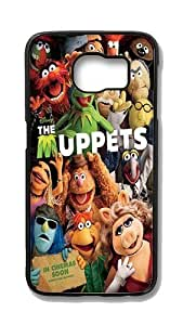 Samsung Galaxy S6 Edge Customized Unique Hard Black Case Muppets Case S6 Edge Cover PC Case