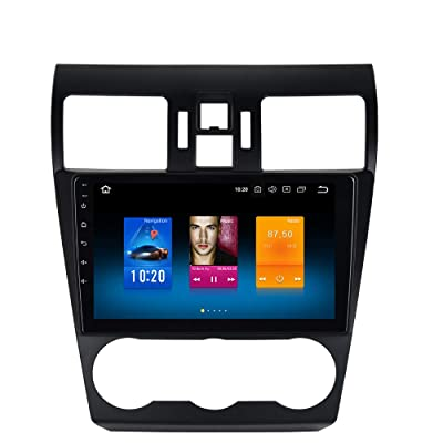 "Dasaita Android 9.0 Car Stereo for Subaru Forester Stereo 2008 2009 2010 2011 2012 2013 2014 2015 2016 2020 2020 Radio with 9"" Screen GPS Navigation Headunit (Subaru Forester WRX 2013 to 2015): GPS & Navigation"