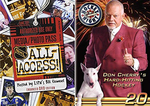 The Year Was 2008, And What A Year It Was... For Hockey: NHL All-Access & Hockey Night In Canada- Don Cherry's Rock' Em Sock' Em Hockey 20 (2-Movie DVD Bundle)