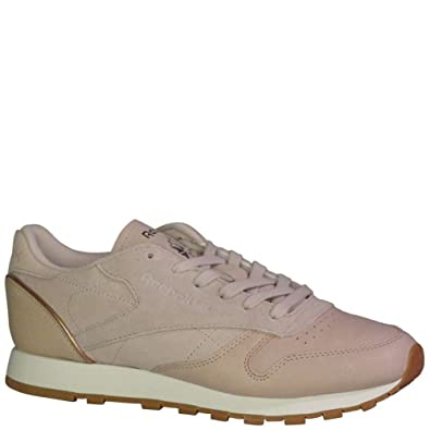 Amazon.com  Reebok Classic Leather Golden Neutrals  Shoes 4b03c85d9