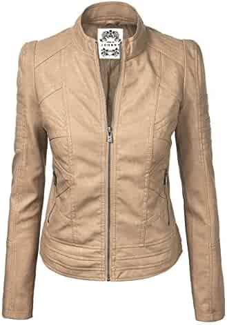 2a8d08341 Shopping Beige or Purples - Leather & Faux Leather - Coats, Jackets ...