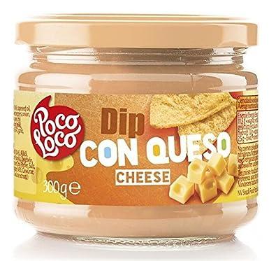 Poco Loco, Salsa para untar (Dip con queso) - 6 de 300 gr. (Total 1800 gr.): Amazon.es: Alimentación y bebidas