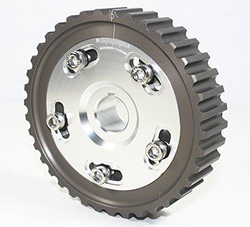 (for Honda Civic Del Sol SOHC D16 D15 D13 D Series Engine Adjustable Cam Gear - Silver)
