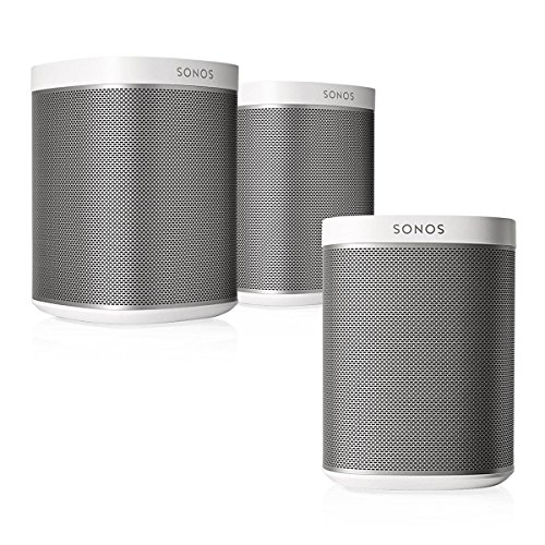 Sonos Play:1 Multi-Room Digital Music System Bundle (3 - Play:1 Speakers) - White