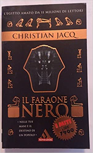Il Faraone Nero Amazon Co Uk Christian Jacq Books