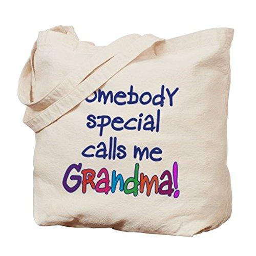 CafePress–alguien especial me llama la abuela.–gamuza de bolsa de lona bolsa, bolsa de la compra