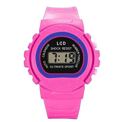 Amazon.com: Coedfa Reloj digital para niños, reloj deportivo ...