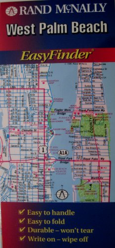 Rand McNally West Palm Beach Easyfinder Map