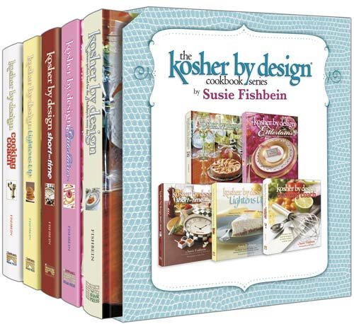 Design Cookbook - Kosher by Design Cookbook Series: Kosher by Design, Kosher by Design Entertains, Kosher by Design Short on Time, Kosher by Design Lightens Up, Kosher by Design Cooking Coach