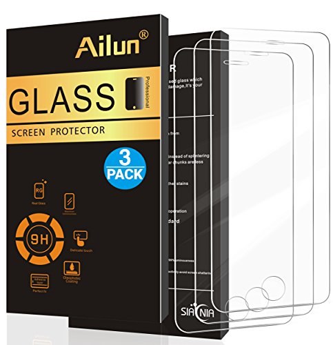 Ailun Screen Protector for iPhone 5s iPhone SE [3pack],For iPhone...