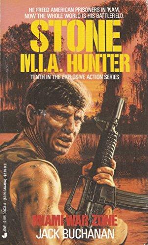 book cover of Miami War Zone