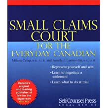 Small Claims Court for the Everyday Canadian