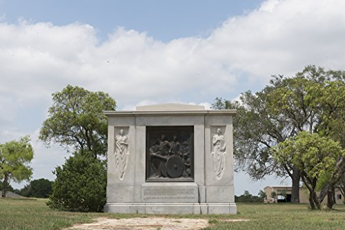 (24 x 36 Giclee Print of Waldine Tauch was Chosen by The Texas Centennial Commission to Create The First Shot Fired for Texas Independence 1935 a Life-Sized Bronze bas-Relief Set)