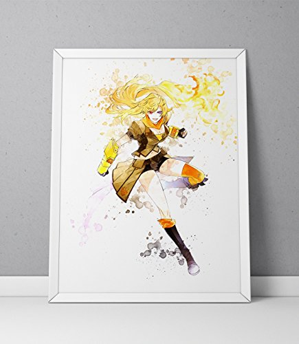 print poster Anime Watercolor N 004 product image