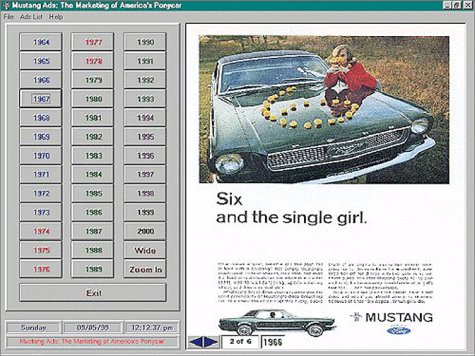 Review Ford Mustang Ads: The