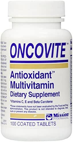 Oncovite Antioxidant Multivitamin, Tablets - 100 ea Pack of 3