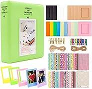 AKDSteel Conjunto de Álbum de papel fotográfico para Fujifilm Instax Mini Camera, Polaroid Snap, Z2300, Câmera
