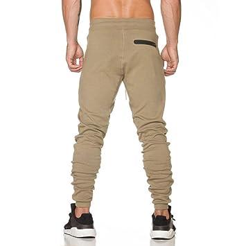 Xiahbong Hombre Pantalones de Chándal Casual Pantalones Deportivos ...