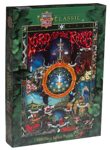 Lord Rings Jigsaw Puzzle 1000pc product image