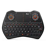 Rii® i28 5 in 1 Wireless Mini Keyboard /Touchpad /Flying mouse /Earphone Jack/Backlit Work for PC,Raspberry Pi 2 3, Android TV Box ,XBMC,Windows 7 8 10