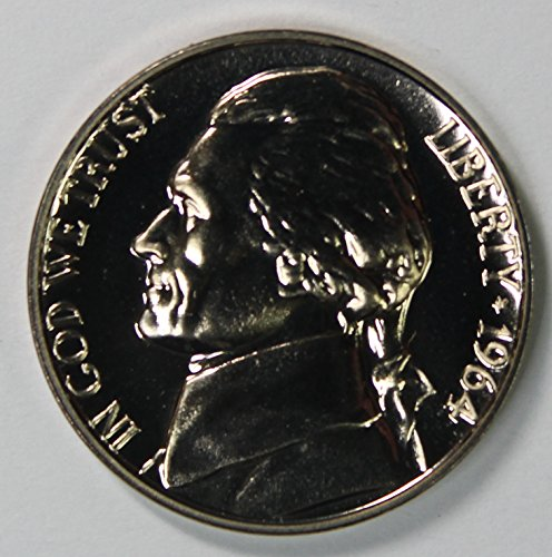 1964 Jefferson Nickel 5c Gem Proof