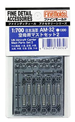 1/700 aircraft carrier set for mast 2 (japan import)