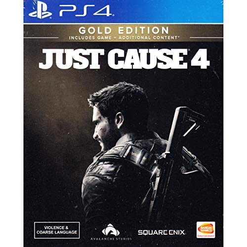 PS4 JUST CAUSE 4 [GOLD EDITION] (ENGLISH) (ASIA)