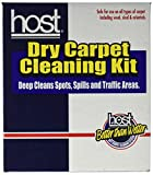 dry cleaning carpet cleaner - HOST C12100 Dry Carpet Cleaning Kit