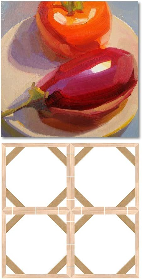 Wood Stretcher Bars Painting Canvas Wooden Frame for Gallery Wrap Oil Painting,Painting Stretcher Bars DIY,Canvas Mounting Frames,Needlepoint Arts 20x25cm//8x10
