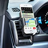 Image of Bestfy Universal Air Vent Holder Cradle Car Mount for iPhone X/8/8 plus/7/7 plus/6s/6s plus/Samsung Galaxy S8/ S8 plus/S7/S7 edge/LG/Nexus/Sony/ and More (2.2''-3.7'')