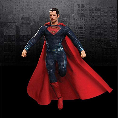 (LICCC Mezco Ant DC Comic Hero Superman one: 12 Cloth 6-inch Movable Doll Hand Model Soldiers)