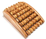 Deluxe Wooden Reflexology Foot Massage Roller - Excellent Review and Comparison