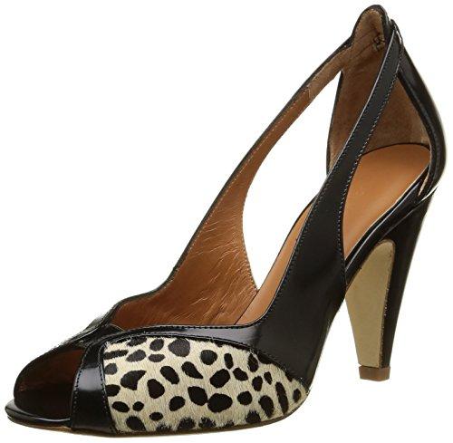 Platform Black Emma Cordoban Noir Women's 16024 Pumps Cheetah Go CzwxtqHwO4