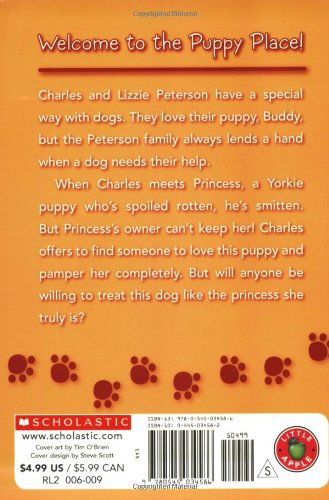 Princess (The Puppy Place) by Scholastic